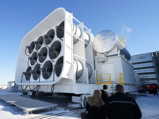 GE opens upgraded aircraft engine testing facility