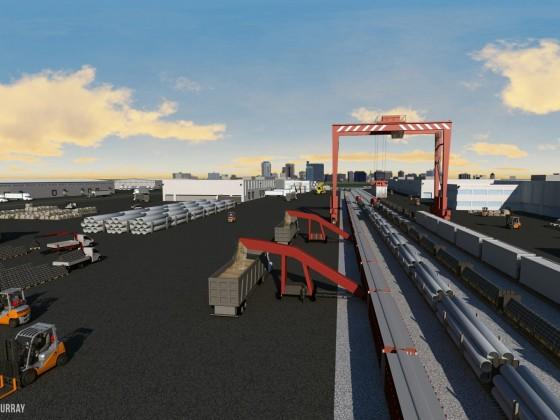 CentrePort Canada's Rail Park ready to lay down new tracks
