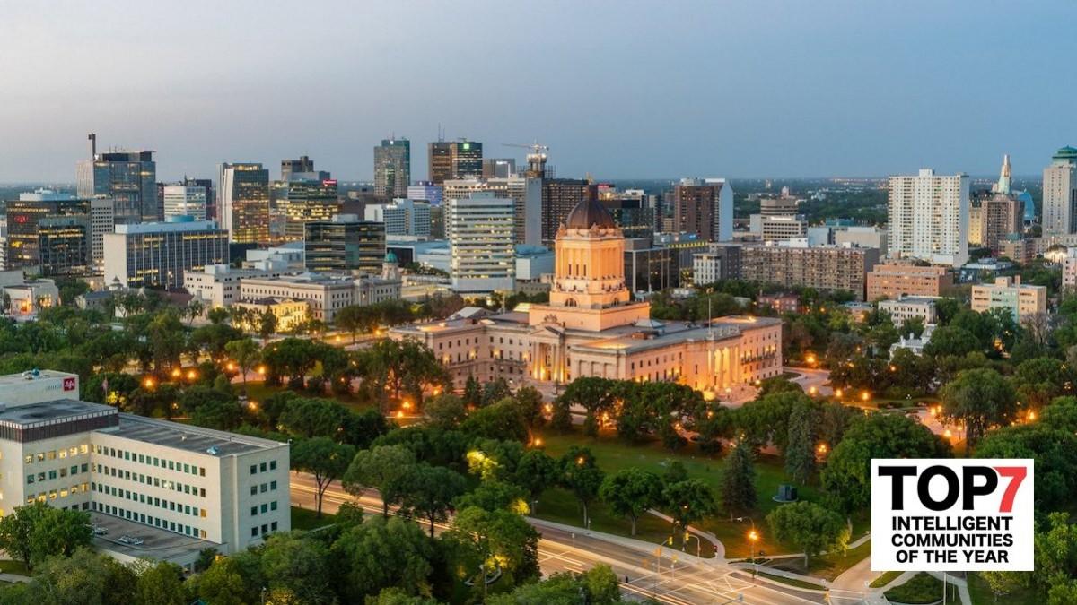 Winnipeg named a Top 7 Intelligent Community for 2021